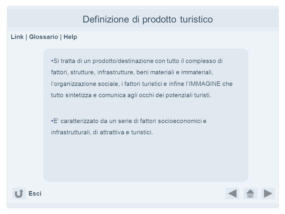 Definizione di prodotto turistico