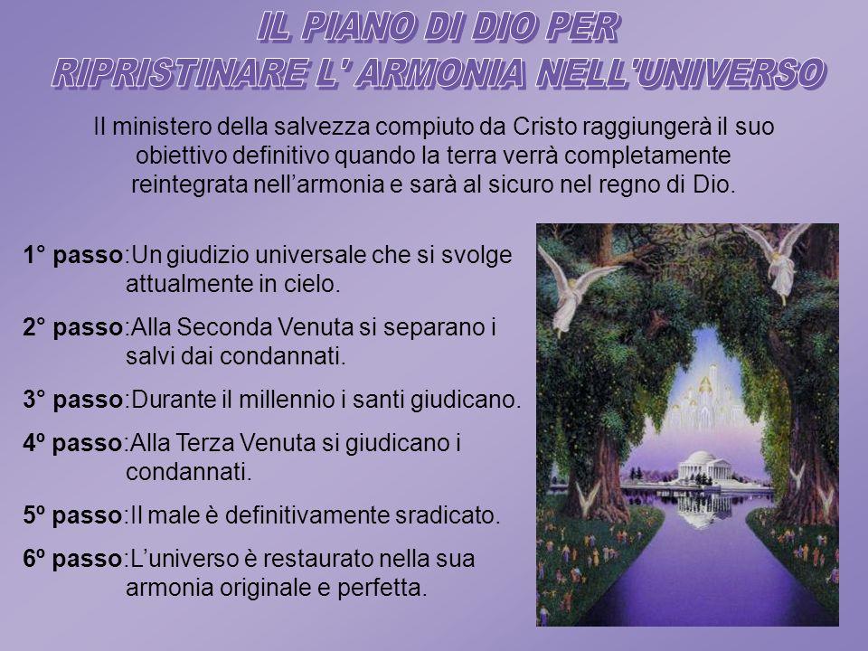 RIPRISTINARE L ARMONIA NELL UNIVERSO