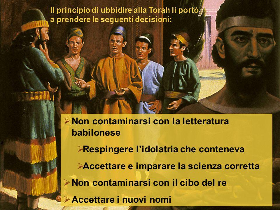 Non contaminarsi con la letteratura babilonese
