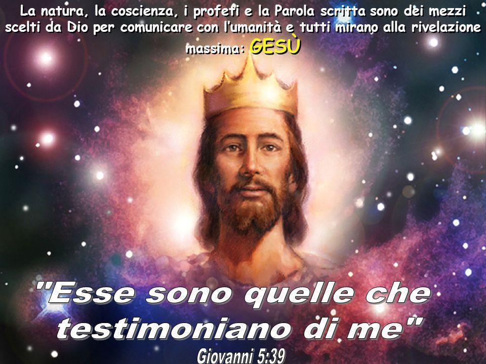 Esse sono quelle che testimoniano di me Giovanni 5:39