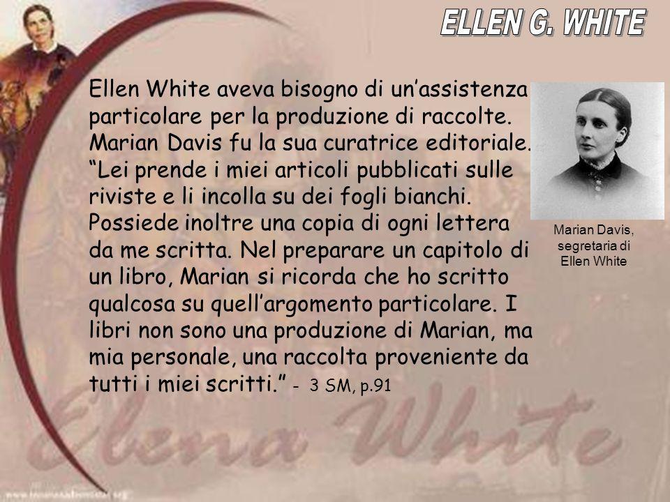 Marian Davis, segretaria di Ellen White