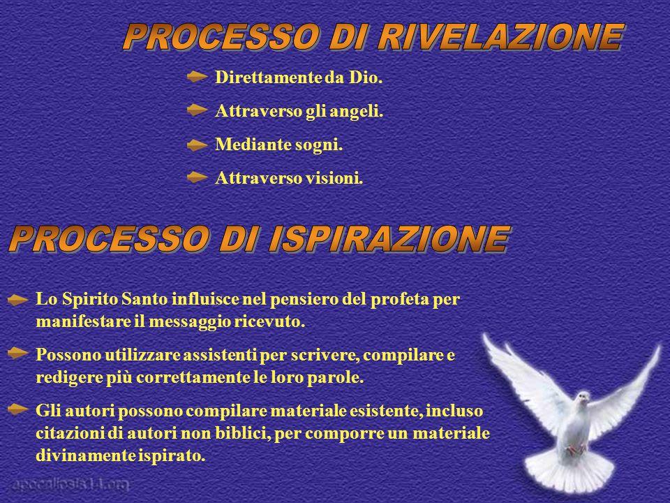 PROCESSO DI RIVELAZIONE
