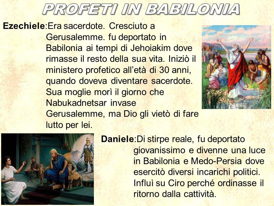 PROFETI IN BABILONIA