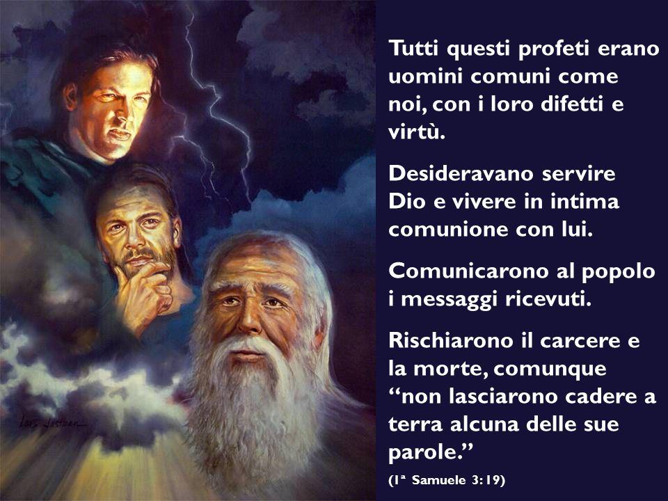 Desideravano servire Dio e vivere in intima comunione con lui.