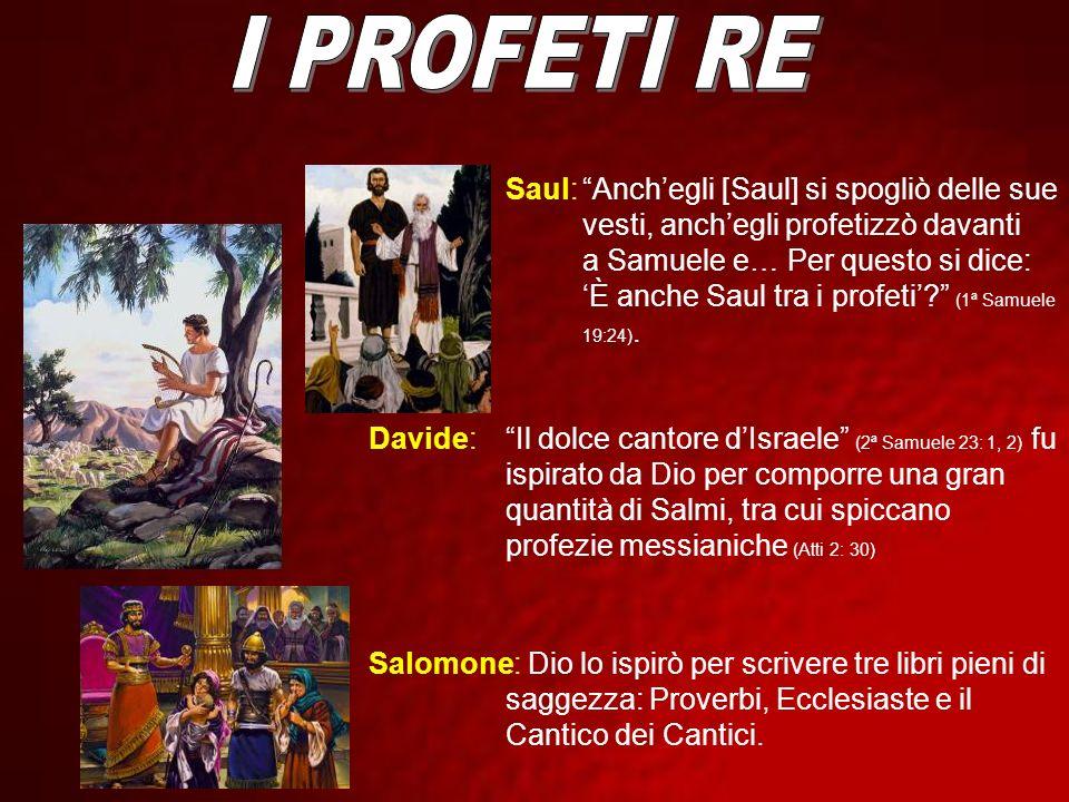 I PROFETI RE