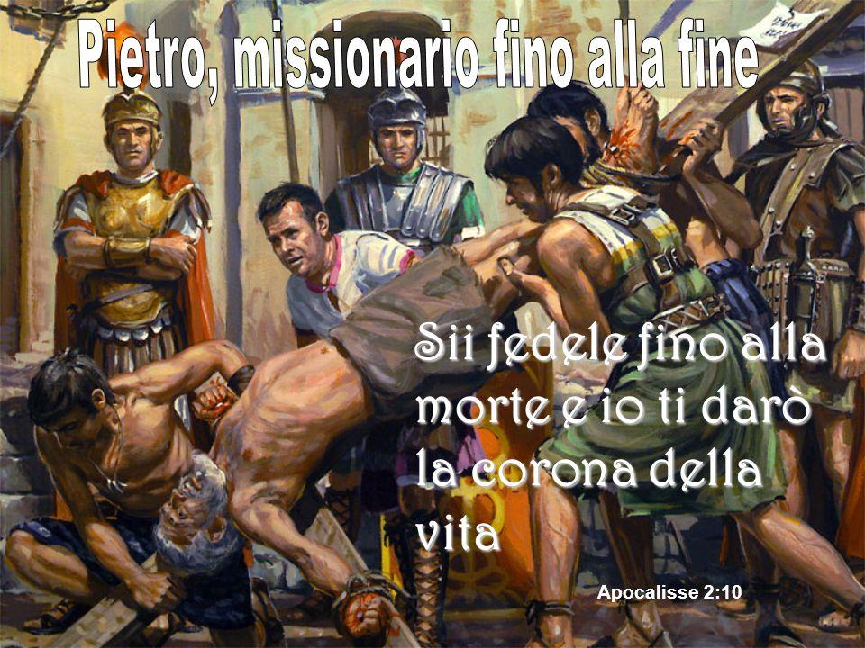 Pietro, missionario fino alla fine