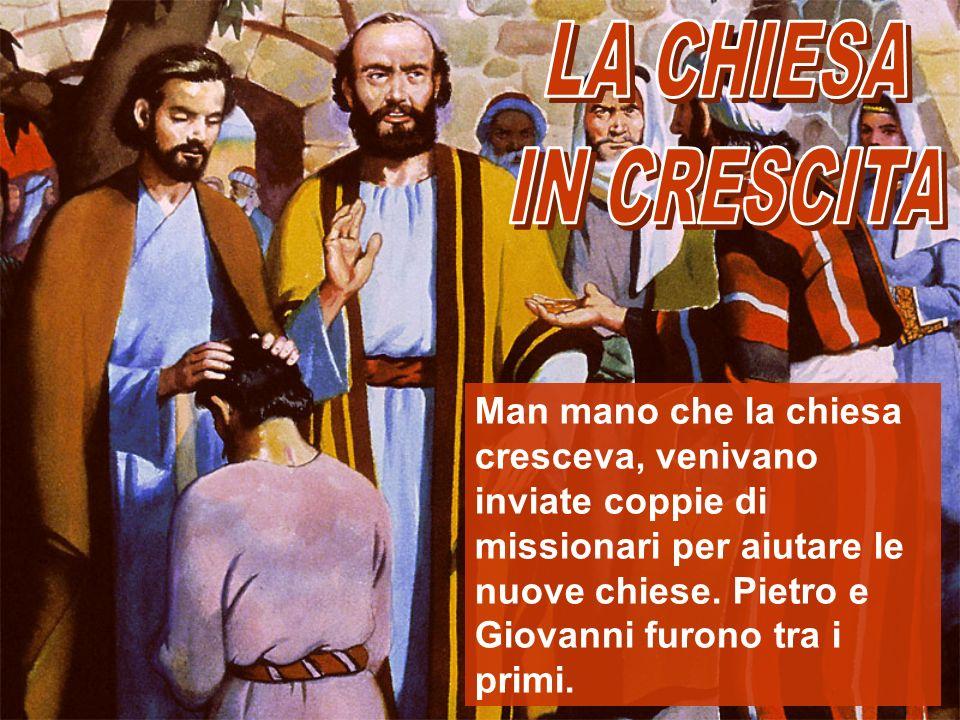 LA CHIESA IN CRESCITA.