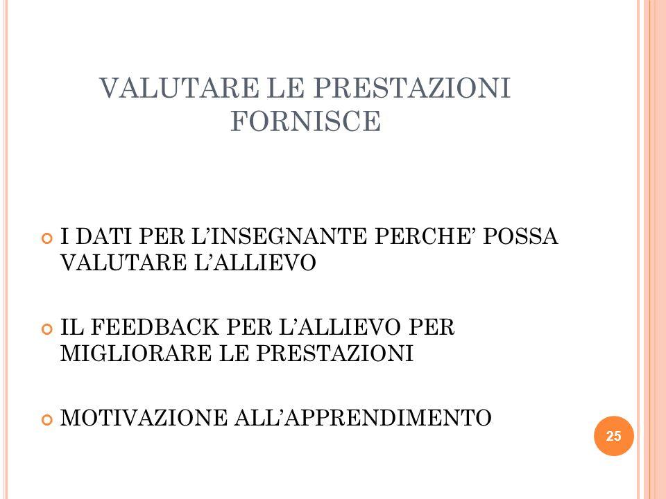 VALUTAZIONE AUTENTICA = VALUTAZIONE del prodotto + valutazione DELLE PRESTAZIONI, DEL PROCESSO di apprendimento