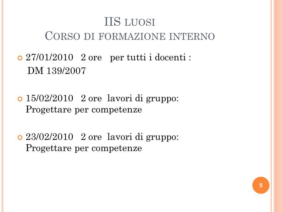 OBBLIGO D'ISTRUZIONE PIANO BIENNALE DI ACCOMPAGNAMENTO ALL'ATTTUAZIONE aa.ss. 2008/09 e 2009/10