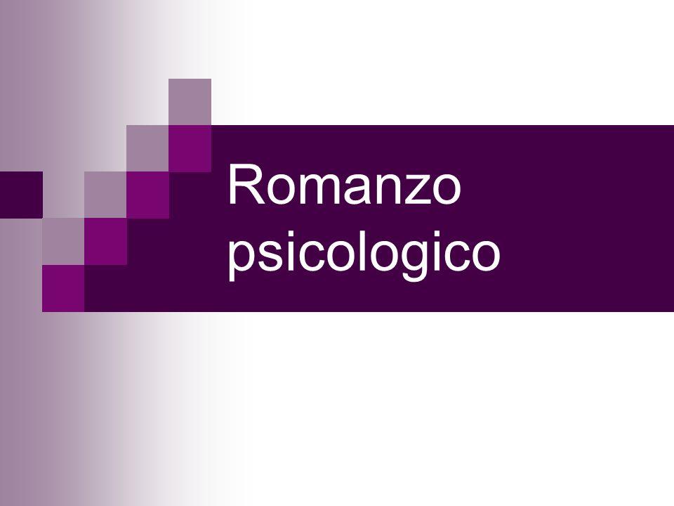 Romanzo psicologico