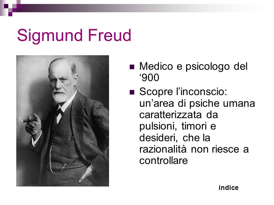 Sigmund Freud Medico e psicologo del '900