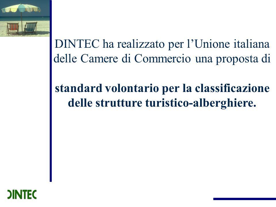 DINTEC ha realizzato per l'Unione italiana delle Camere di Commercio una proposta di