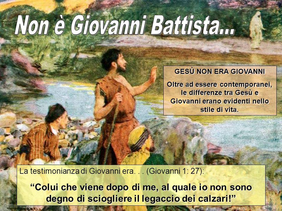 Non è Giovanni Battista...