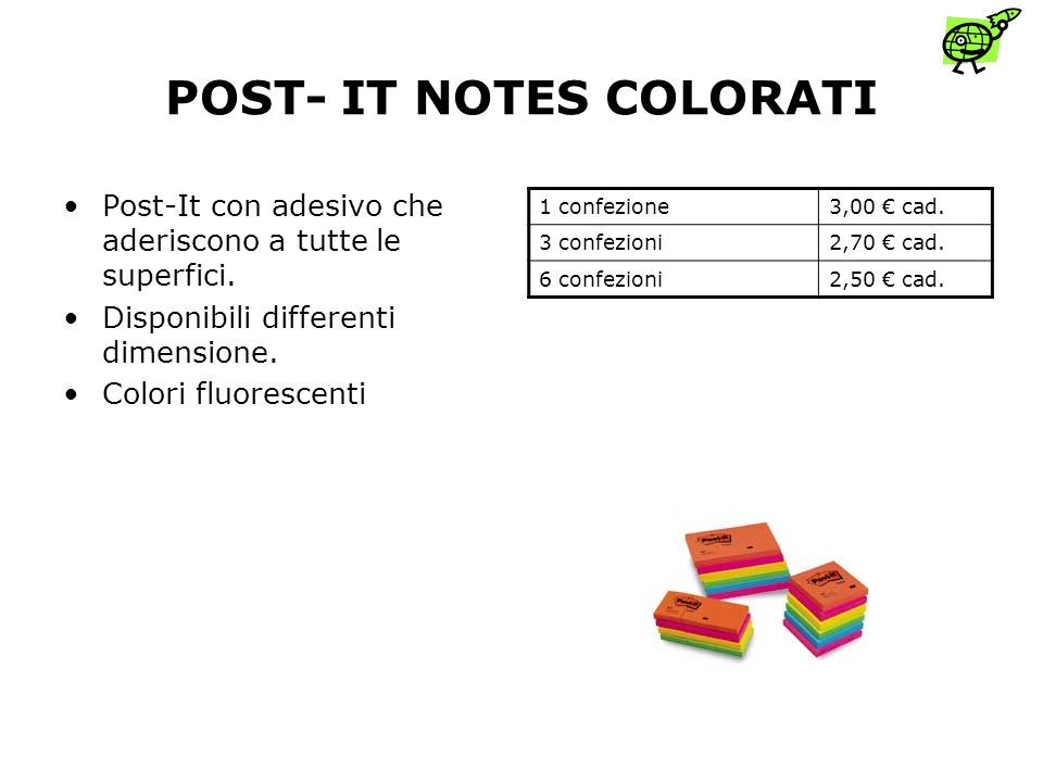 POST- IT NOTES COLORATI