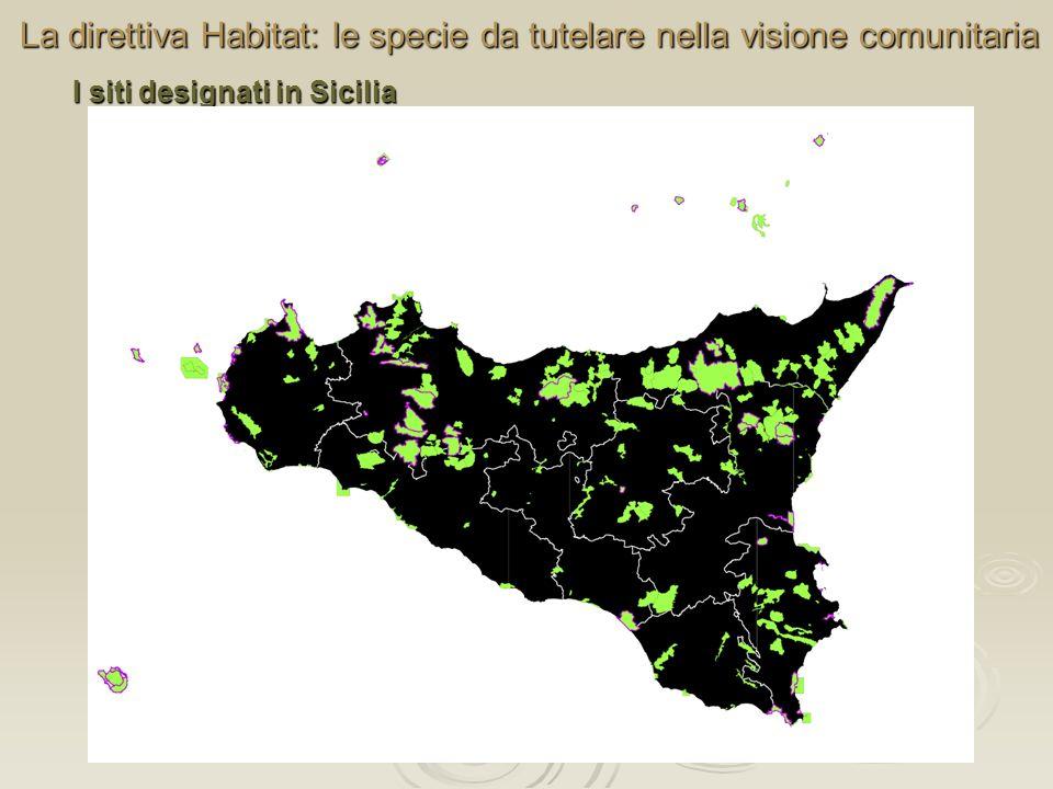 La direttiva Habitat: le specie da tutelare nella visione comunitaria