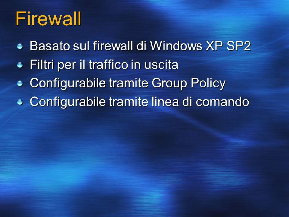Firewall Basato sul firewall di Windows XP SP2