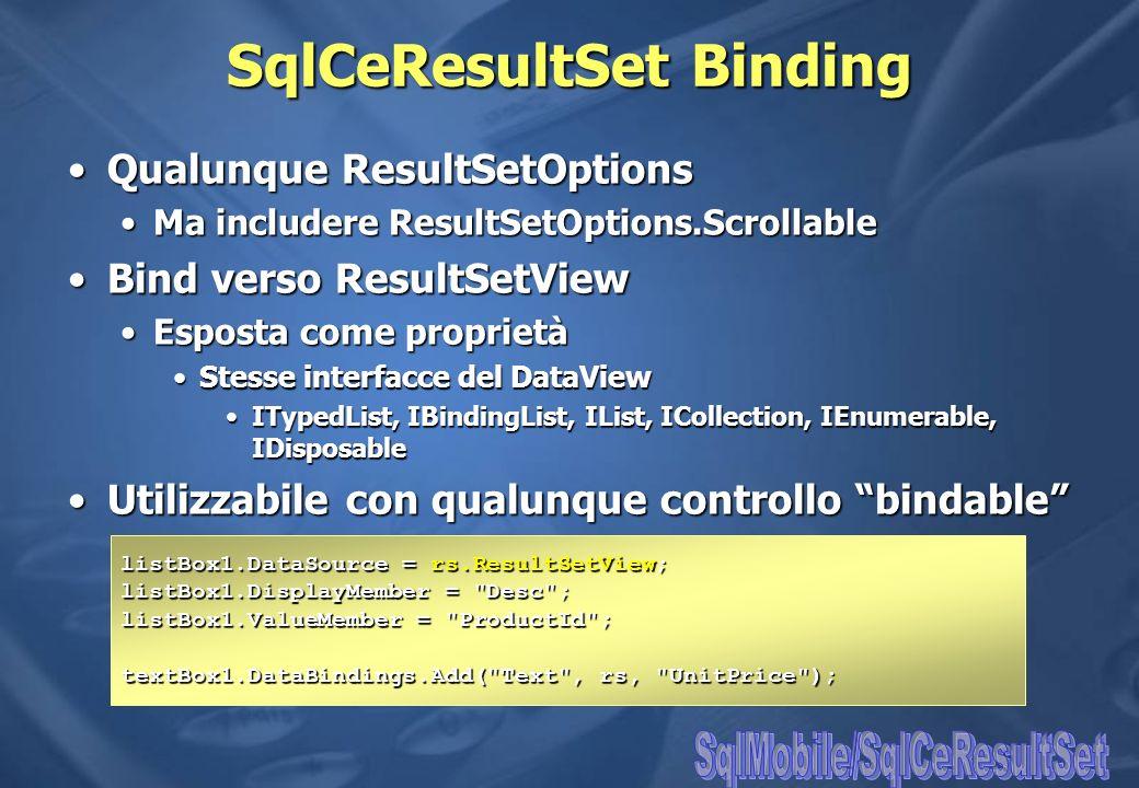 SqlCeResultSet Binding