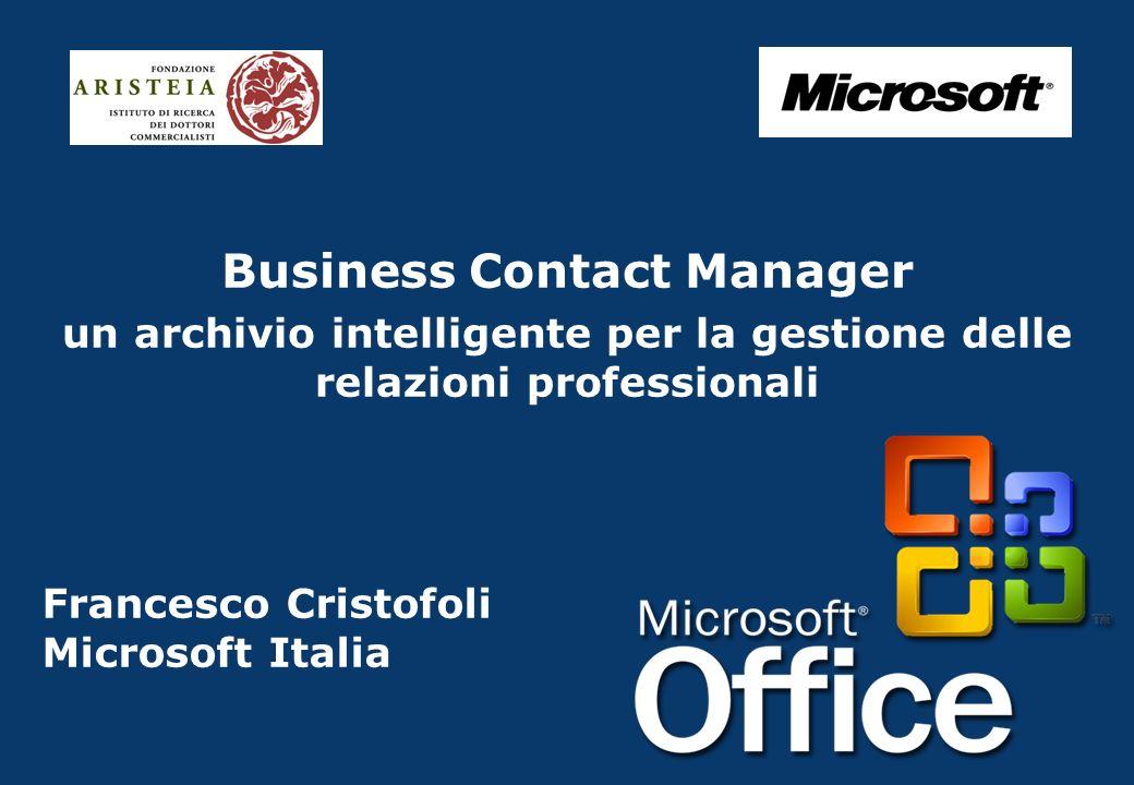 Francesco Cristofoli Microsoft Italia