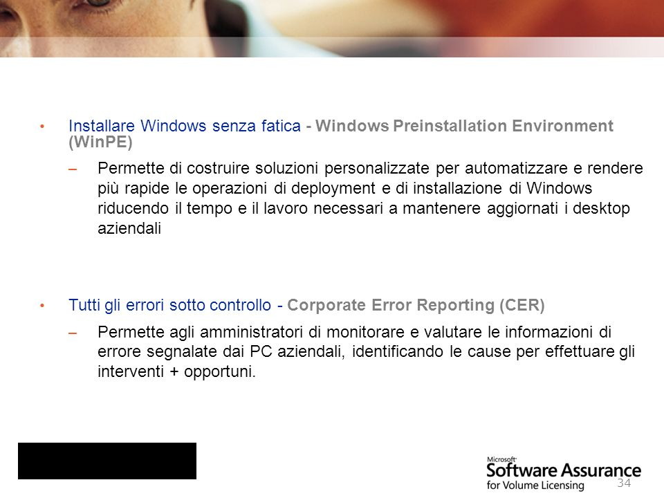 Installare Windows senza fatica - Windows Preinstallation Environment (WinPE)