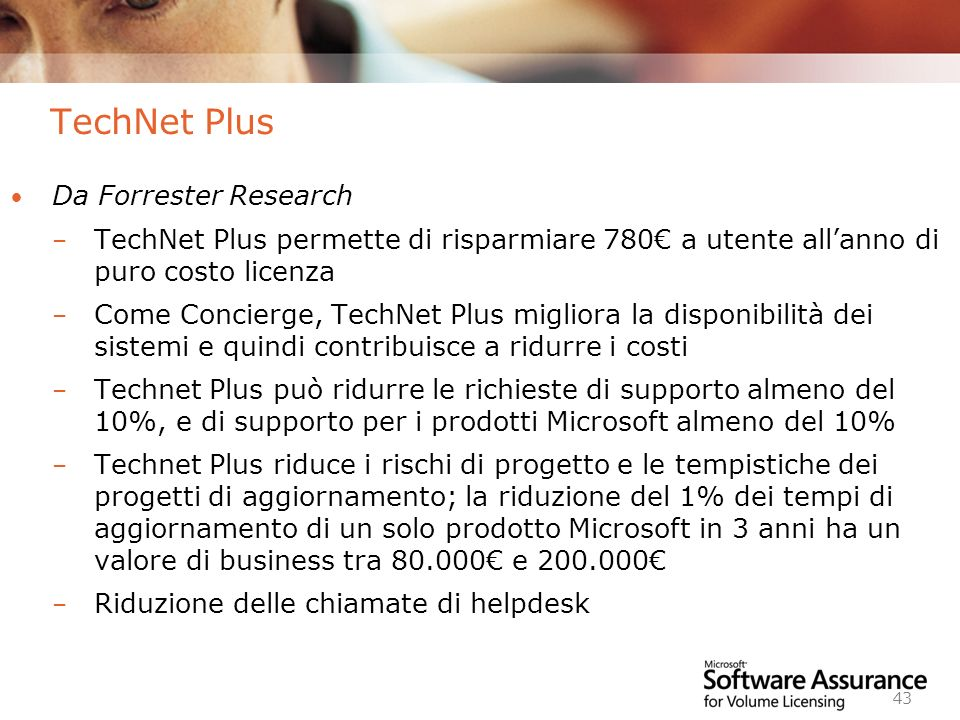 TechNet Plus Da Forrester Research