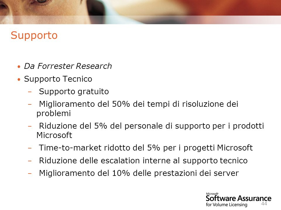 Supporto Da Forrester Research Supporto Tecnico Supporto gratuito