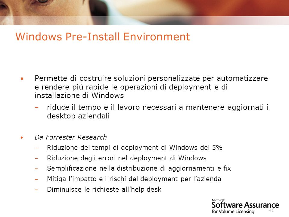 Windows Pre-Install Environment