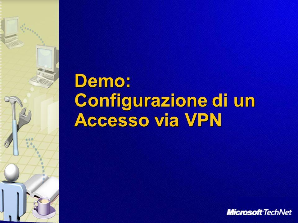 Demo: Configurazione di un Accesso via VPN