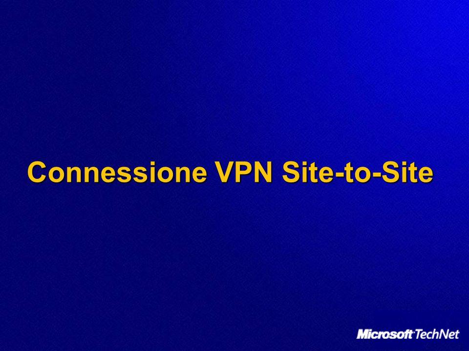 Connessione VPN Site-to-Site