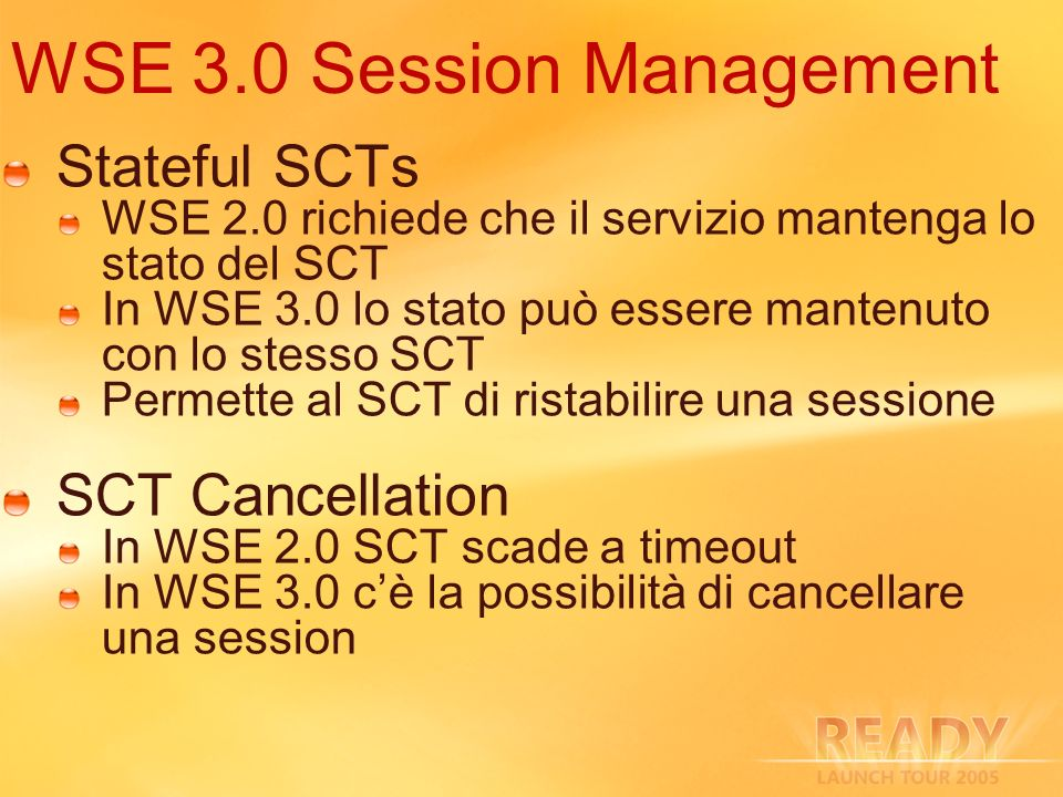 WSE 3.0 Session Management