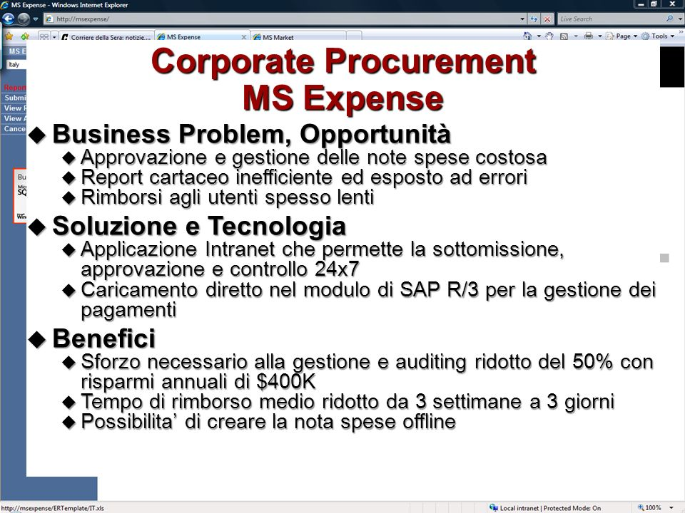 Corporate Procurement