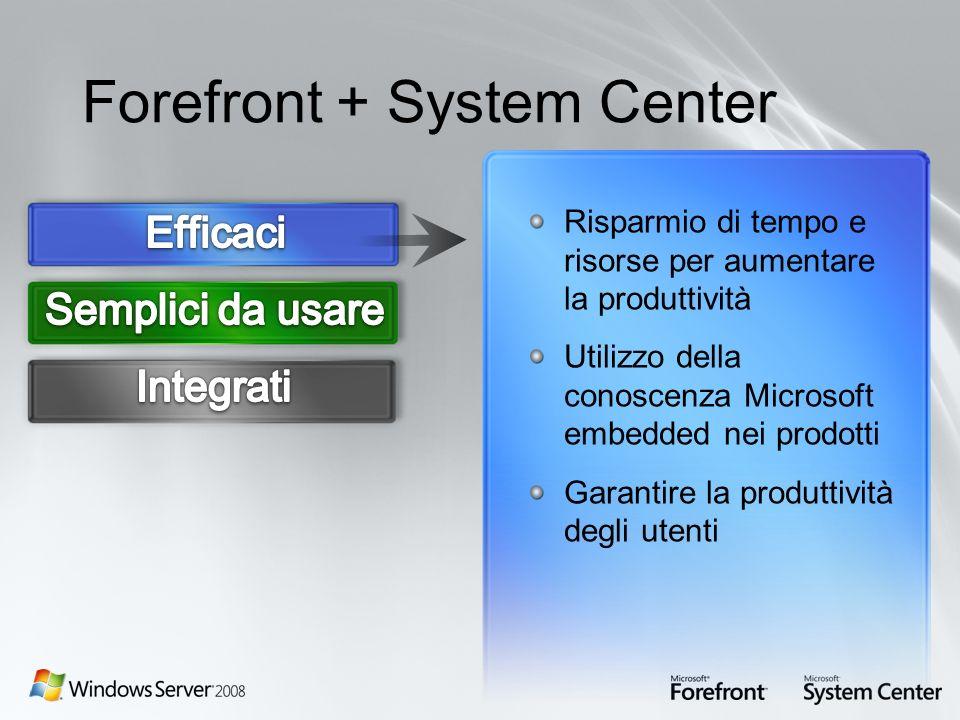 Forefront + System Center