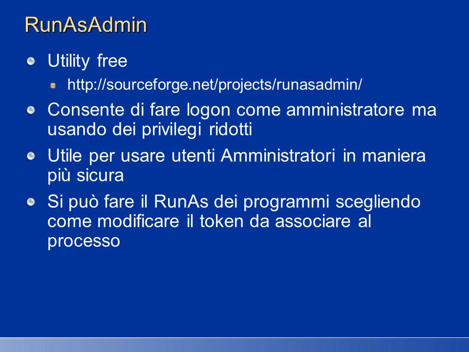 RunAsAdmin Utility free