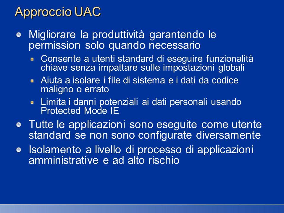 27/03/2017 2:27 AM Approccio UAC. Migliorare la produttività garantendo le permission solo quando necessario.