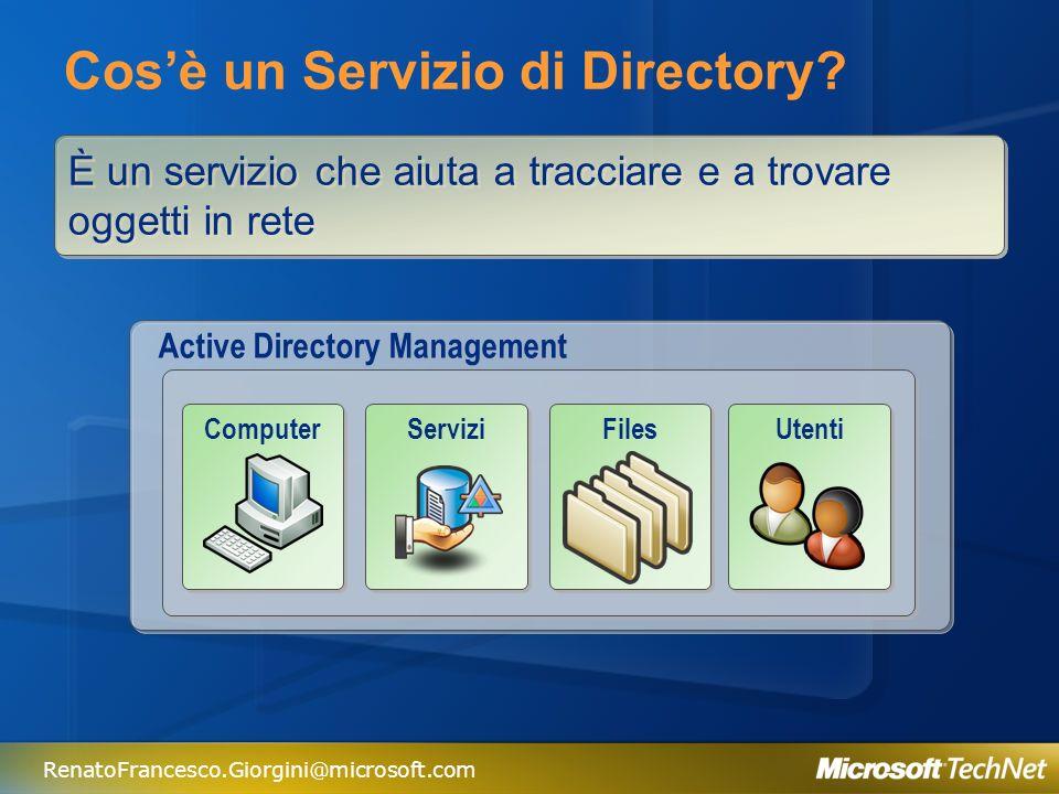 Cos'è un Servizio di Directory