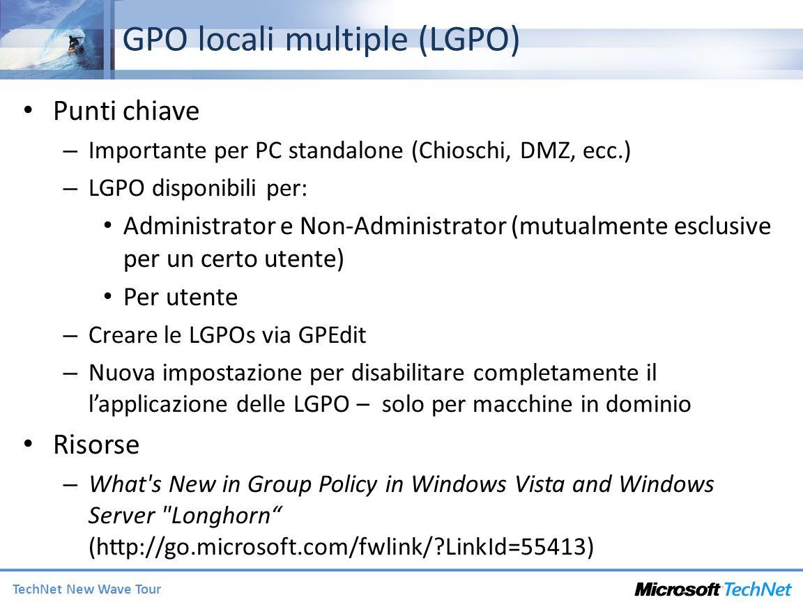 GPO locali multiple (LGPO)