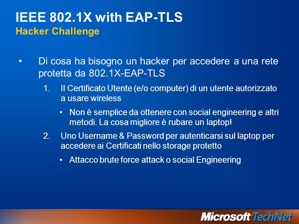 IEEE 802.1X with EAP-TLS Hacker Challenge