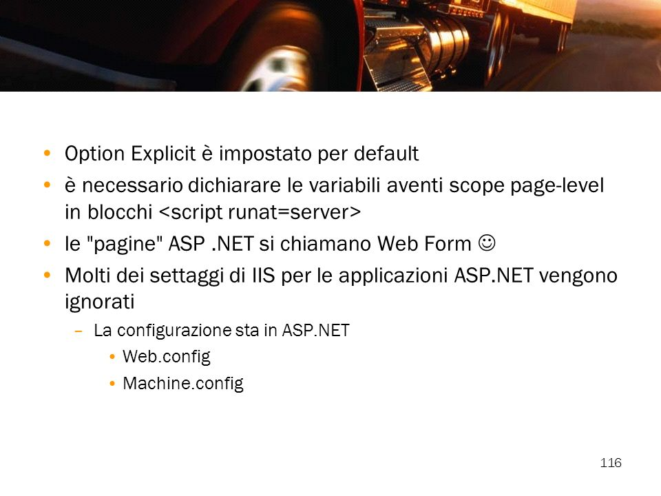 Option Explicit è impostato per default