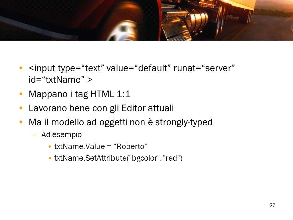 <input type= text value= default runat= server id= txtName >