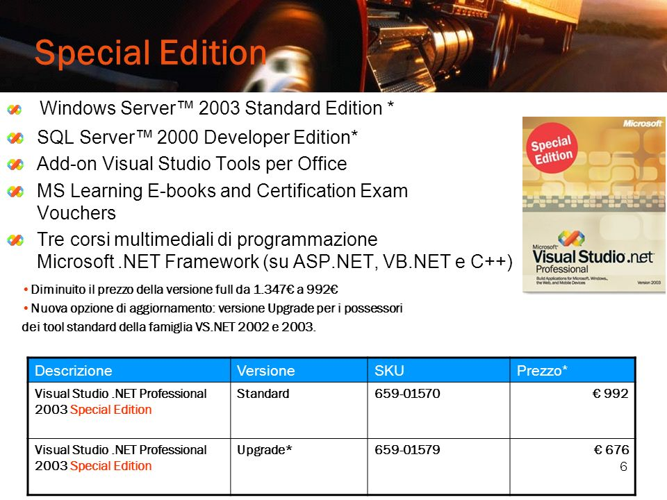 Special Edition Windows Server™ 2003 Standard Edition *