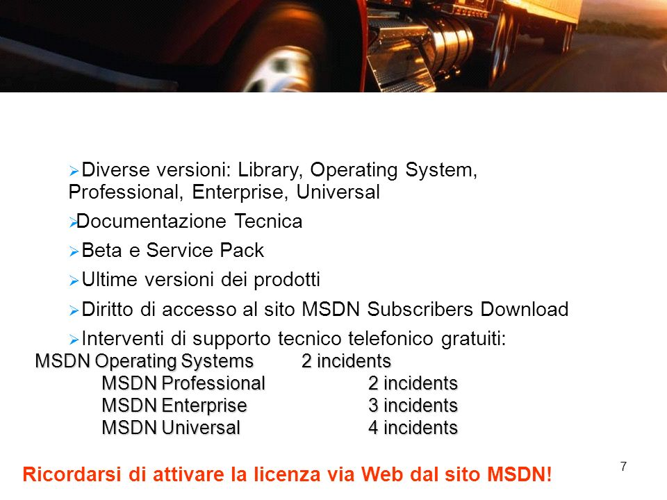 Documentazione Tecnica Beta e Service Pack