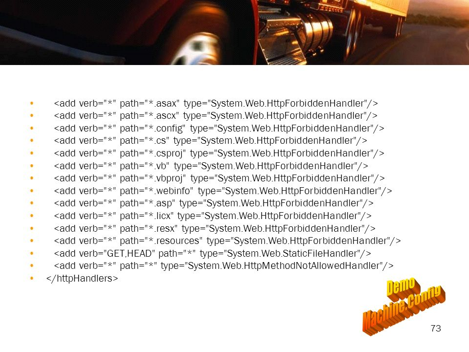 <add verb= . path= . asax type= System. Web