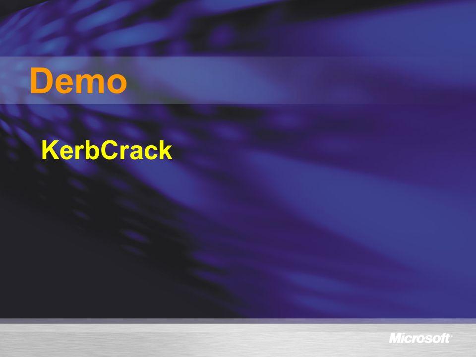 Demo KerbCrack