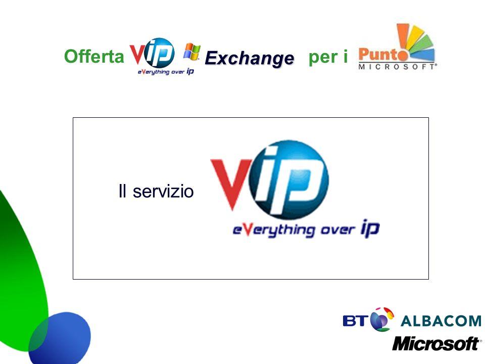 Exchange Offerta per i Il servizio