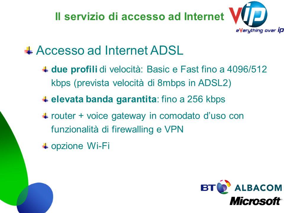 Il servizio di accesso ad Internet