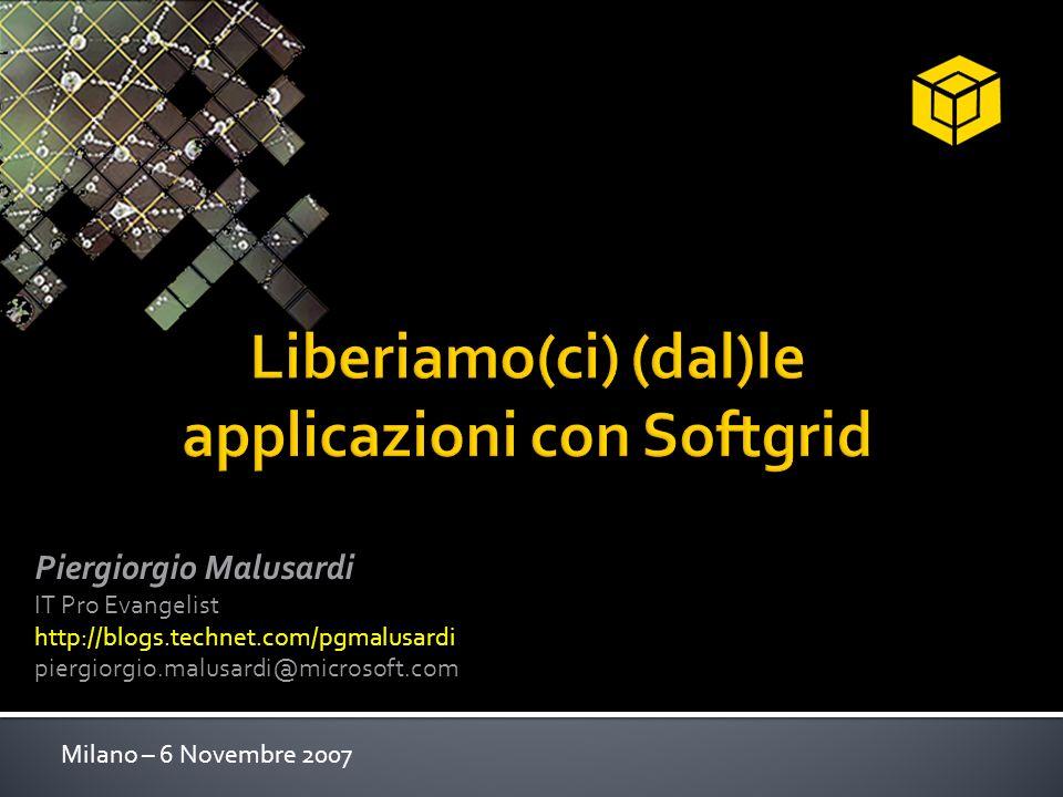 Liberiamo(ci) (dal)le applicazioni con Softgrid