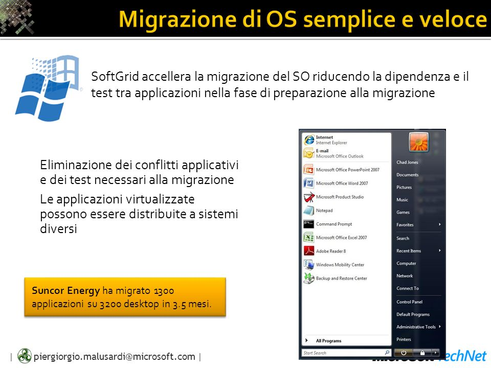 Migrazione di OS semplice e veloce