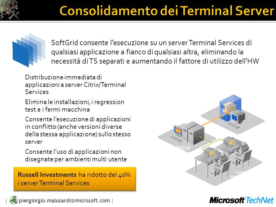 Consolidamento dei Terminal Server