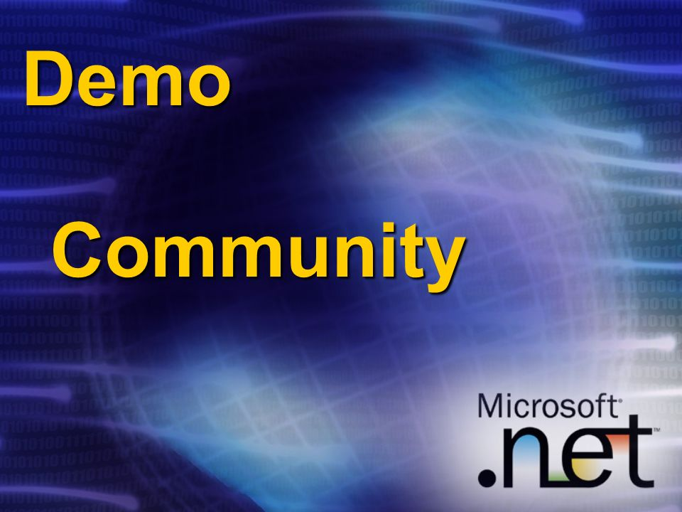 Demo Community