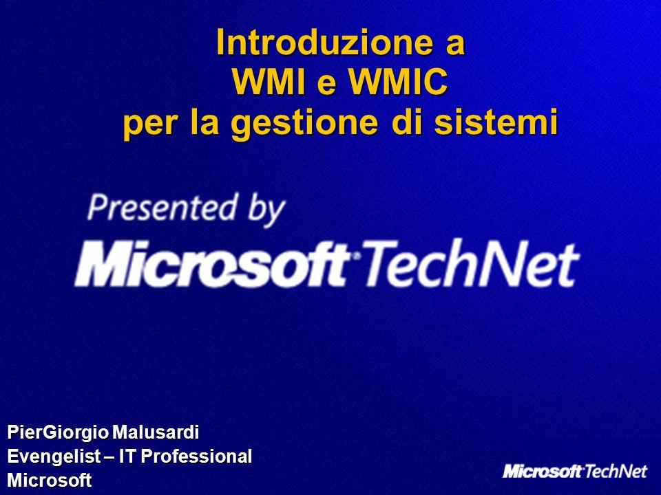 Introduzione a WMI e WMIC per la gestione di sistemi