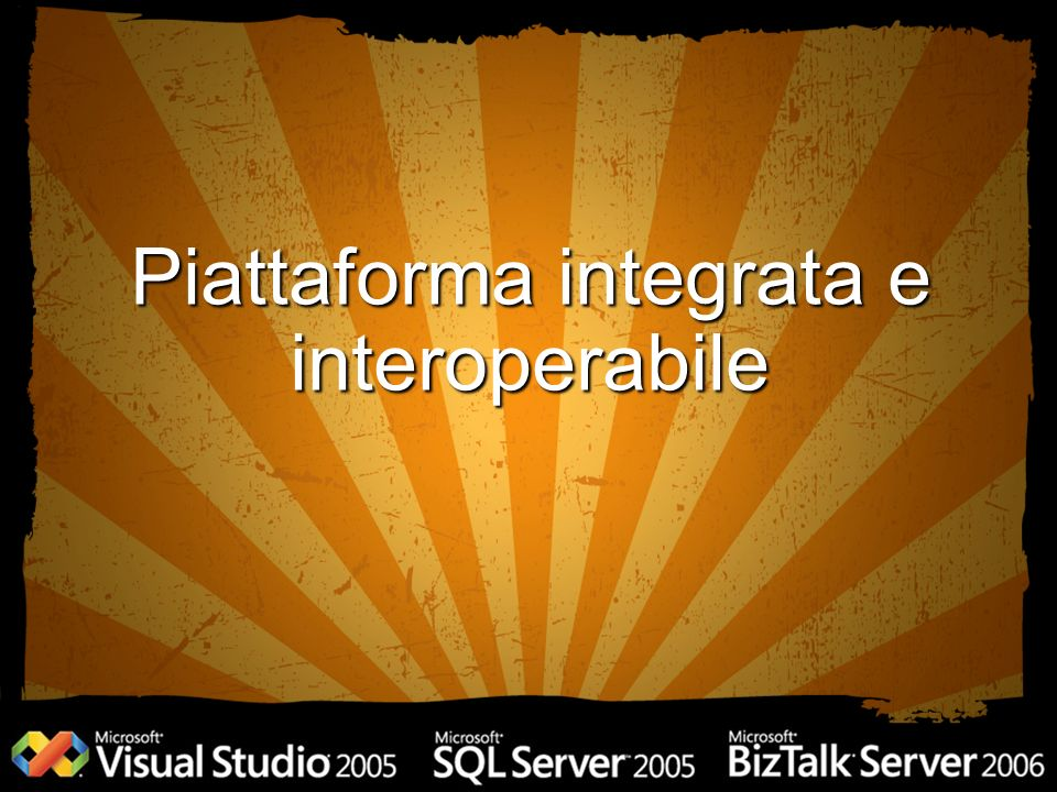 Piattaforma integrata e interoperabile